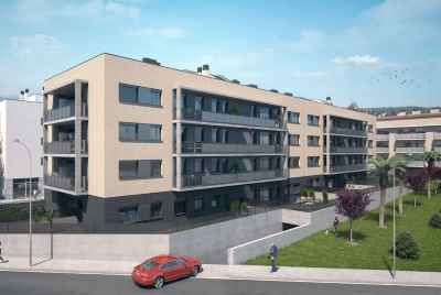 New complex close to the prestigious town Sant Cugat de Valles